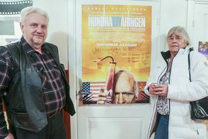 Sven och Jeanette Åkerman åkte på onsdagsmorgonen från Vagnhärad för att se film  Tännäs.
