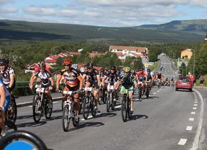 Antalet deltagare fördubblades jämfört med förra årets lopp.