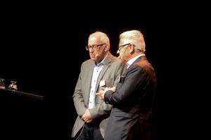 Jan Eivinson och Erik Paulsson inledde Daladagen på Magasinet i Falun.