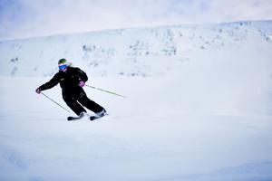Nästa helg är det skidpremiär även för utförsåkningen i Åre. Arkivbild.