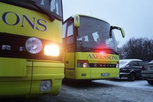 Västeråsföretaget Axelssons Turisttrafik AB vann upphandlingen om skolbussar i Skinnskatteberg.