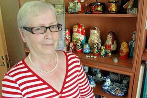 Gertie Stenberg gillar olika kulturer, speciellt den ryska.