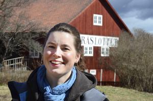 Helena Modig lämnar kaféverksamheten som hon drivit på Träslottet.