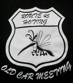 Den norrländska myggan är symbolen för motorklubben i Hoting.