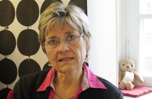 Sjukhusdirektör Nina Fållbäck Svensson.