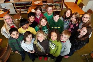 Klass 4 på Sonfjällsskolan i Hede tog sig för andra året till final i Schackfyran.