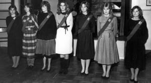 Luciakandidaterna 1983, Tyvärr finns inga namn i ÖP:s arkiv.