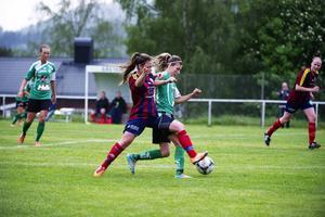 Veronica Lundholm blev segerskytt för Själevad.    Foto: JENNIE SUNDBERG/ARKIV