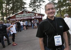 Lars Bälter, medieansvarig för Svenska Dansbandsveckan i Malung.