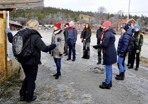Vid ledcentralen i Vålådalen finns numer även information kring de cykelleder som ingår i länsstyrelsens pilotprojekt på anpassning av statliga fjälleder för cyklister.