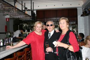 Birgitta Tingberg, mr Frank och Margaretha Nilsson.