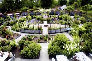 Wij Trädgårdar i Ockelbo.