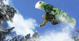 """""""Shaun White snowboarding""""  är inget för nybörjare."""