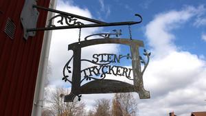 Stentryckeriet har funnits i Vikmanshyttan sedan 1970-talet.