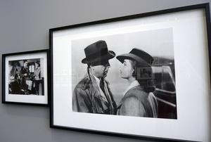 Ingrid Bergman och Humphrey Bogart i Casablanca, hennes kanske mest berömda film.
