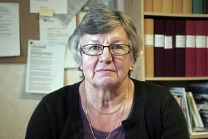 Britt-Marie Stenström, ordförande i Lärarförbundet Nordanstig, är väldigt oroad över undersökningens resultat.