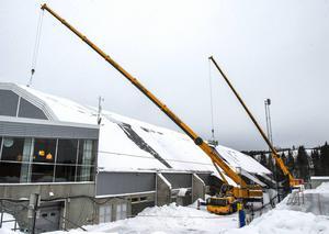 Det kostar 40 miljoner att åtgärda Nordichallen.