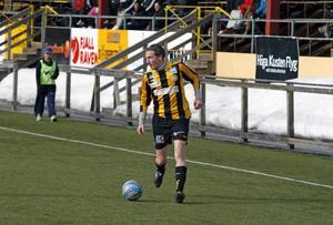 Daniel Johansson satte tre mål när FV besegrade Holmsund med 6–4. Foto: JON HÄGGQVIST/ARKIV