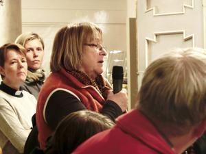 Eva Hedberg, ordförande i Socialdemokraterna i Åre. Tanken är att de asylsökande ska introduceras i det svenska språket redan i asylprocessen.