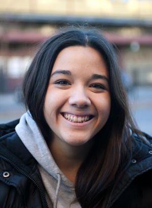 Michelle Karlsson, 18, student, Borlänge– Ja, eftersom alla vet vilka de är. Men man känner bara till namnet, inte många känner till några låtar de har gjort.