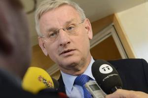 Utrikesminister Carl Bildt (M).