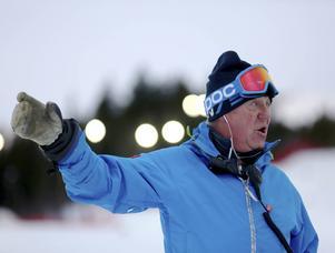Nalle Hansson skulle själv vilja ha mer vanlig snö i pisten och mindre is.