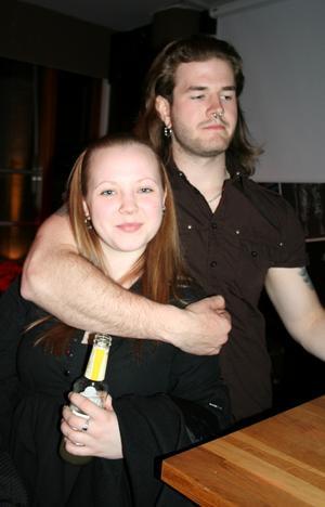 Rock och K Baren. Emma och Olof