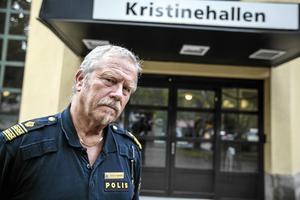 Stefan Dangardt, polisens presstalesperson i Dalarna.
