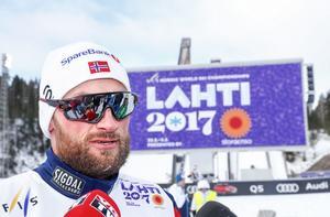 Petter Northug slutade på plats 30. Emil Jönsson kom i mål som 19:e man.