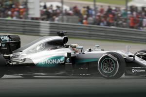 Britten Lewis Hamilton vann.
