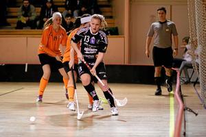 Johanna Ragnarsson stod för tre mål och två assist när Silverstaden vann med 15-2 mot Ankarsvik. Foto: Mikael Stenkvist