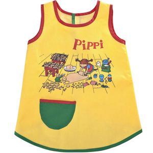 Till de mindre barnen. Fint när de minsta ska julbaka. Pippiförklädet hittas på Åhléns och kostar 129 kronor.