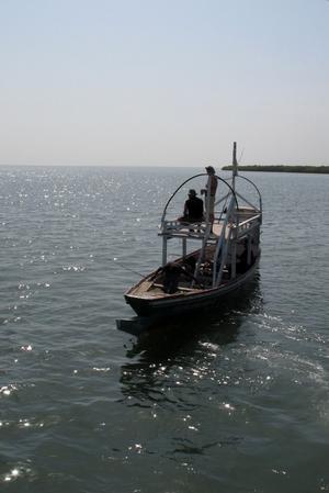 Smal och rank som en CG Pettersson båt.