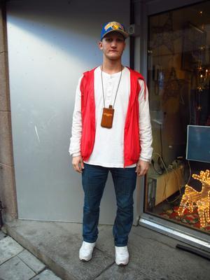 hiphop-stil. Anton Wall saknar en Callroots-butik i Gävle.