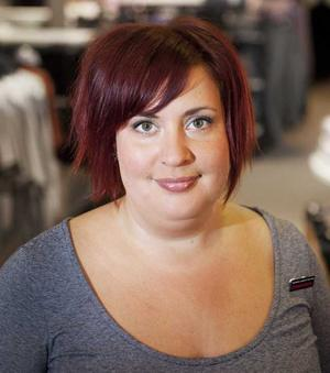 Karin Johansson, 31 år, tf chef för Dressman XL.