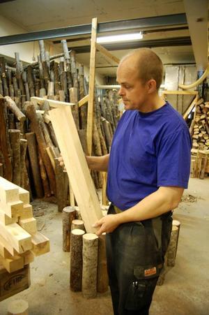 Furugården har sin verkstad i Svegs industriområde där Magnus Grinde och Peter Friedrich jobbar.