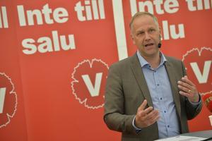 Vinstförbud. Jonas Sjöstedts krav på förbud mot vinster i välfärden skulle innebära ett hårt slag mot valfriheten.