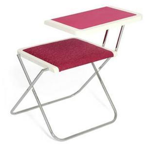 Ta med både bordet och datorn ut i det gröna. Det hoppfällbara bordet är gjort av Oskar Korall.