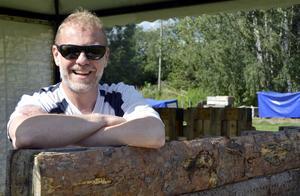 Marknadsgeneral Mikael Buller ser fram mot helgen och hoppas på många besökare till Selångers marknad.