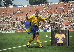 Tomas Brolin under mästerskapet 1994.