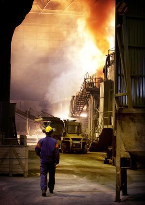 Stålugnen får det närmaste året ett nytt rökgasfilter, en nödvändig 115-miljonersinvestering om man som Ovako tänker vara kvar som ståltillverkare.