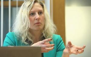 """""""Sköter man skolan rätt så kommer den aldrig mer att gå med ekonomisk förlust"""", säger Sofie Wiklund som nu lämnar arbetet som rektor för att bli konsult. Foto: Johnny Fredborg"""