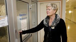 Liselott Sjöqvist, tillförordnad sjukhuschef vid Västerås sjukhus.