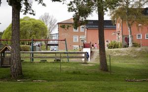 Västra skolan i Hudiksvall.