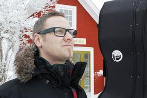 Lars Näsman ser fram emot spelningen på Doheny-festivalen i Kalifornien.