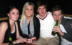 Silk. Evelina, Sabina, Viktor och Andreas