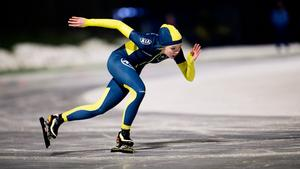 """Nykvarnstjejen Erika Lindgren har under helgens SM-tävling en jättechans att kvala in till ungdoms-OS 2016. """"Jag känner mig självsäker, det ska inte vara några problem"""", säger Erika."""