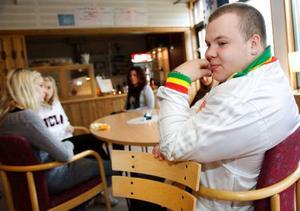 Alexander Blad har sin fritidsgård i Lugnvik.
