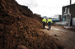 Barken är eftertraktad som bränsle i fjärrvärmeanläggningar och ett samarbete med Fortum är inlett. I planerna ingår att barken, sedan det mesta av vattnet pressats ur den, ska fraktas sjövägen till ett blivande biokraftvärmeverk.