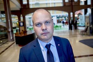 Morgan Johansson (S), justitie- och inrikesminister.
